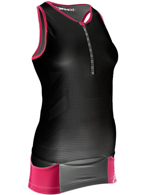 Compressport TR3 Ultra Triathlon Tank Top Women Black